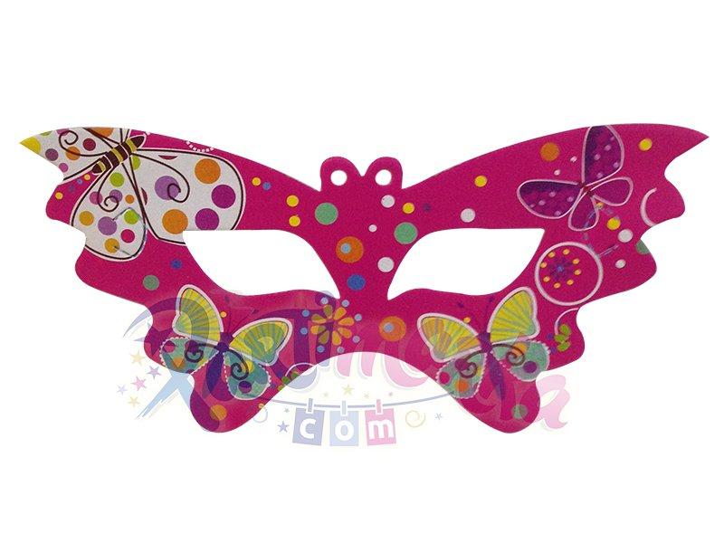 Kelebek Maske Karton Maskeler Partimarka
