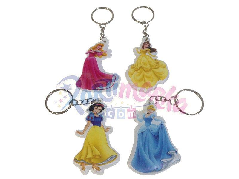 Disney Prensesleri Hediyelik Doğum Günü Anahtarlıklar Anahtarlıklar
