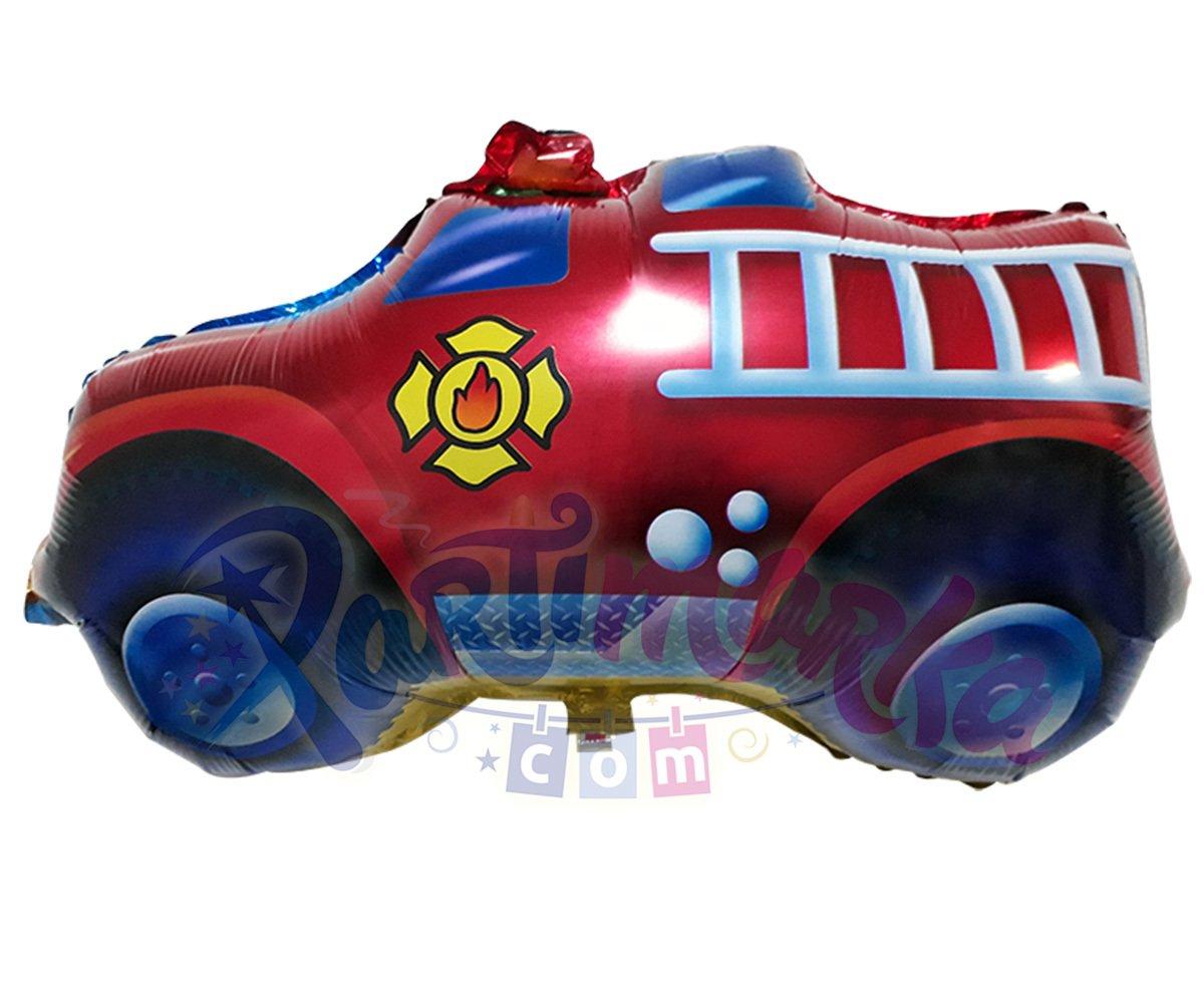 Itfaiye Arabasi Balon Harf Folyo Balonlar Partimarka Itfaiye