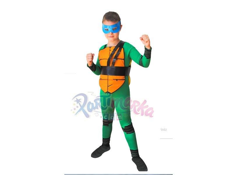 Ninja Kaplumbagalar Leonardo Kostumu 4 6 Yas Film Ve Tv