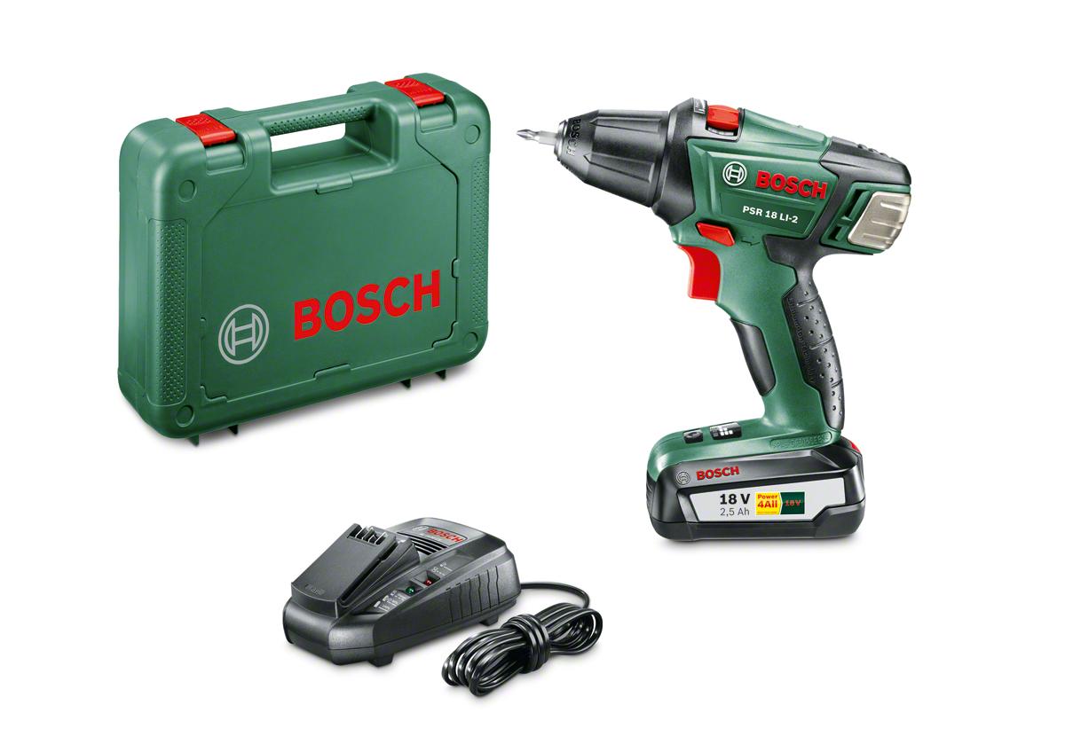 Bosch PSR 18 LI-2 Akülü Vidalama Makinesi-En Uygun Fiyatla  hirdavatburada.com'da