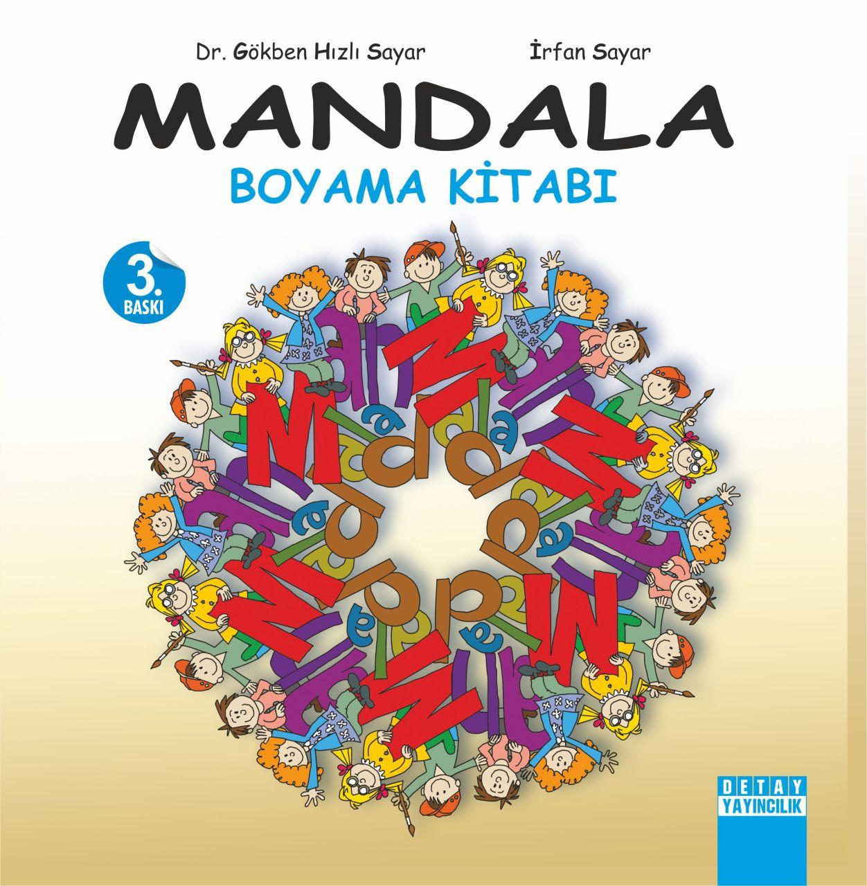 Mandala Boyama Kitabi