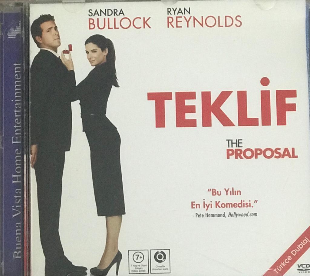 Teklif -The Proposal VCD Film VCD3659