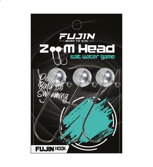 Fujin Zoom Head 1/0 Jighead