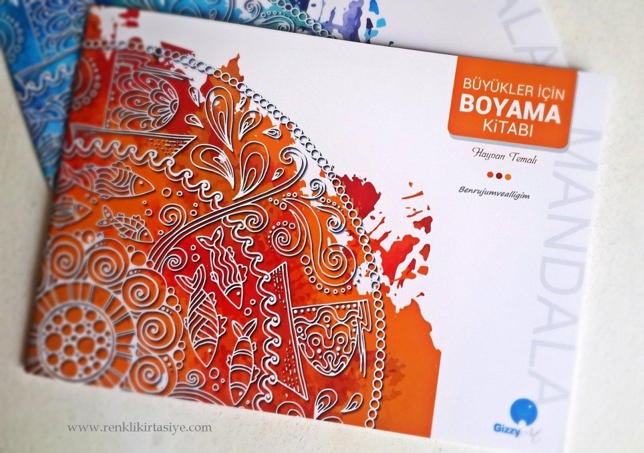 Buyukler Icin Boyama Kitabi Hayvan Temali Mandala Boyama