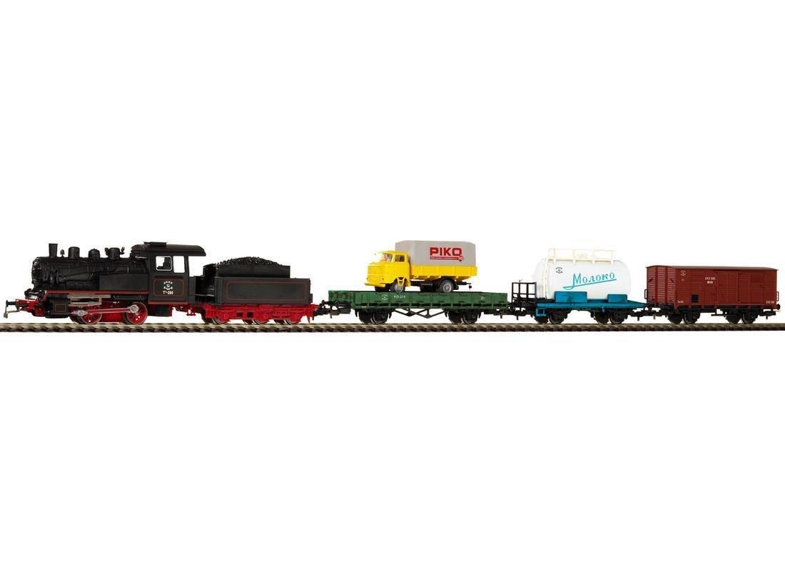 Piko 97913 1 87starter Set Freight Train Szd