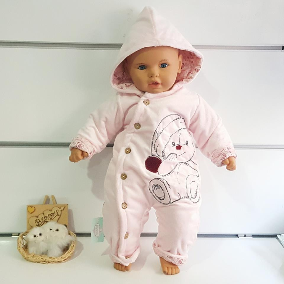 Ayıcık Bebek Tulumu