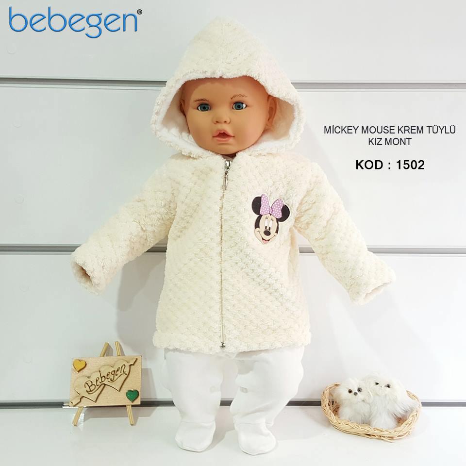 Mickey Yazlık Bebek Yelek Modeli