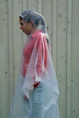 Coghlans Yağmurluk Panço  (Şeffaf)