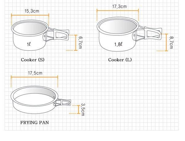 Kovea Hard 23 Pişirme Seti