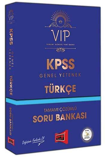 Kpss Vip Türkçe Tamamı çözümlü Soru Bankası Yargı Yayınları