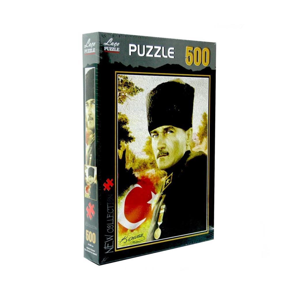 LC7219 Laço Atatürk Portre 500 Parça Puzzle