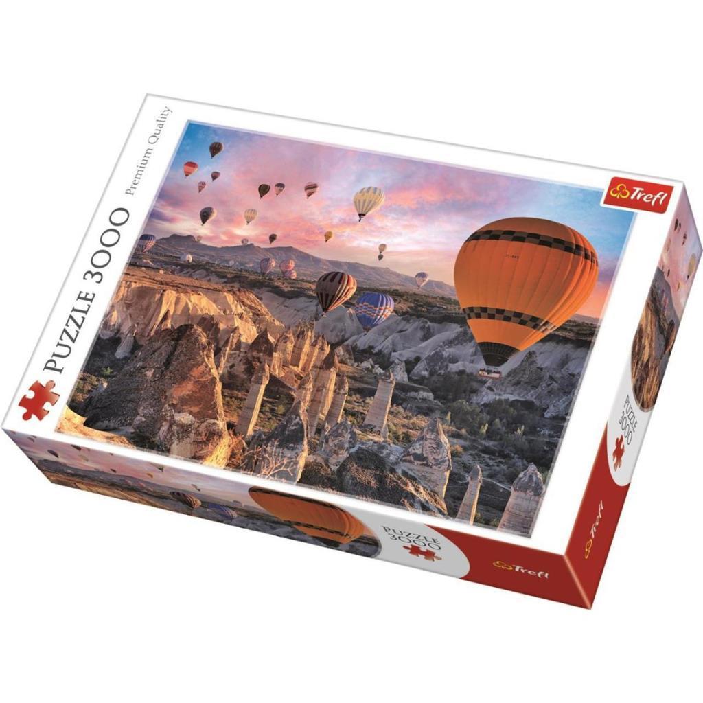 33059 Trefl Puzzle, Balloons Over Kapadokya 3000 Parça Puzzle