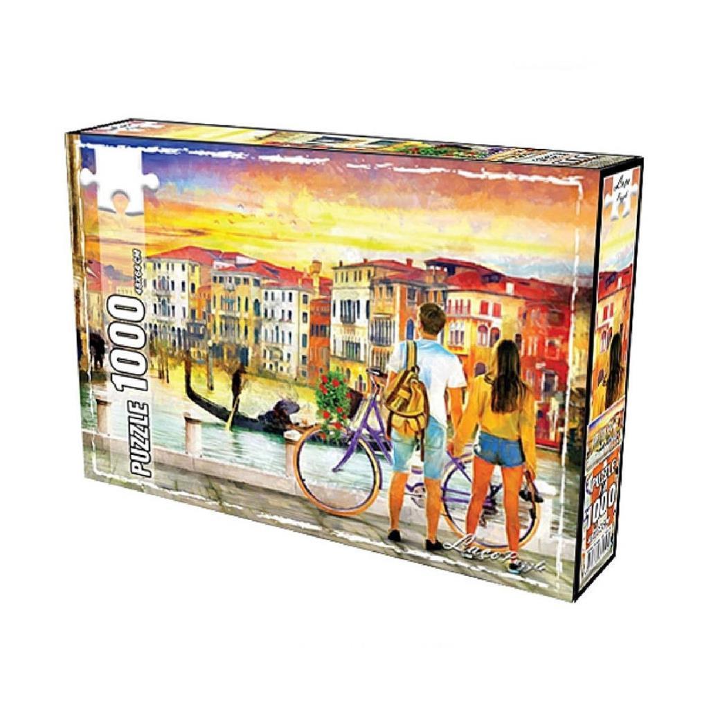 LC7276  Utku, Venedikte Aşk 1000 Parça Puzzle