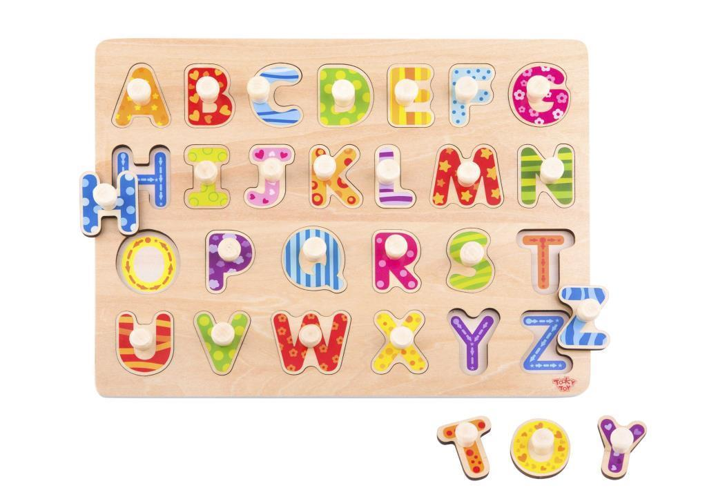 Tooky Toy  Ahşap Harf Puzzle