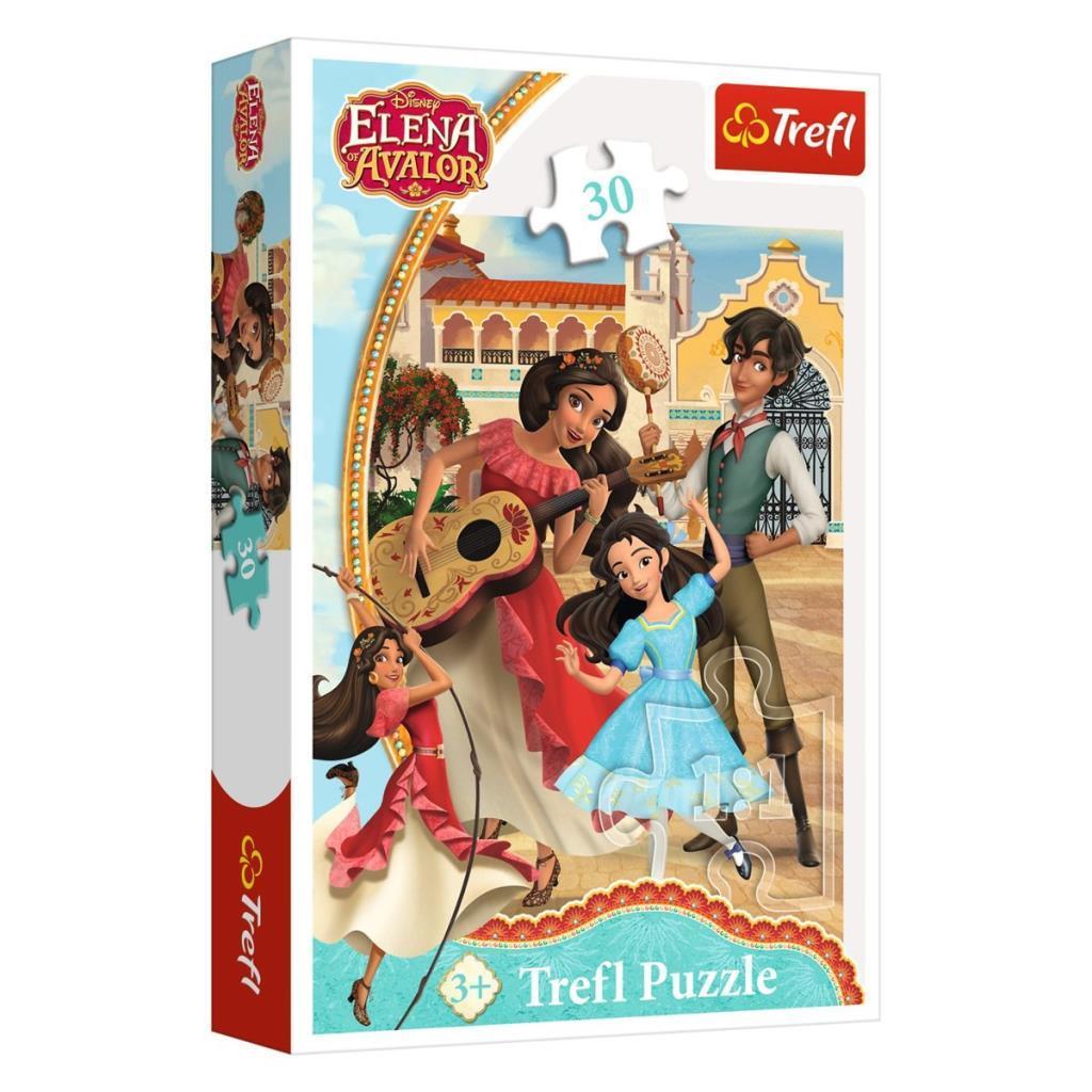 18224 Trefl Puzzle Elena Of Avalor Friends Forever 30 Parça Puzzle
