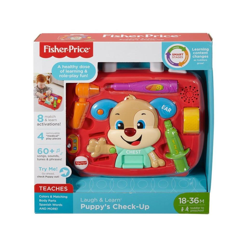 FTC72 Fisher-Price® Yaşa Göre Gelişim Köpekçik Doktorda / Türkçe / Eğlen ve Öğren