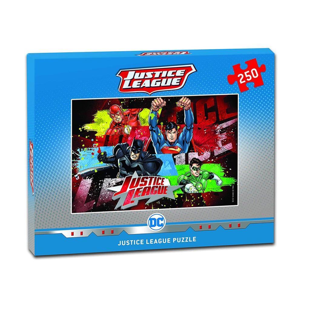 DC7557 Laço Kids DC Justice League 250 Parça Puzzle