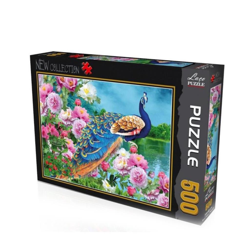 LC7212 Laço Tavus Kuşu 500 Parça Puzzle