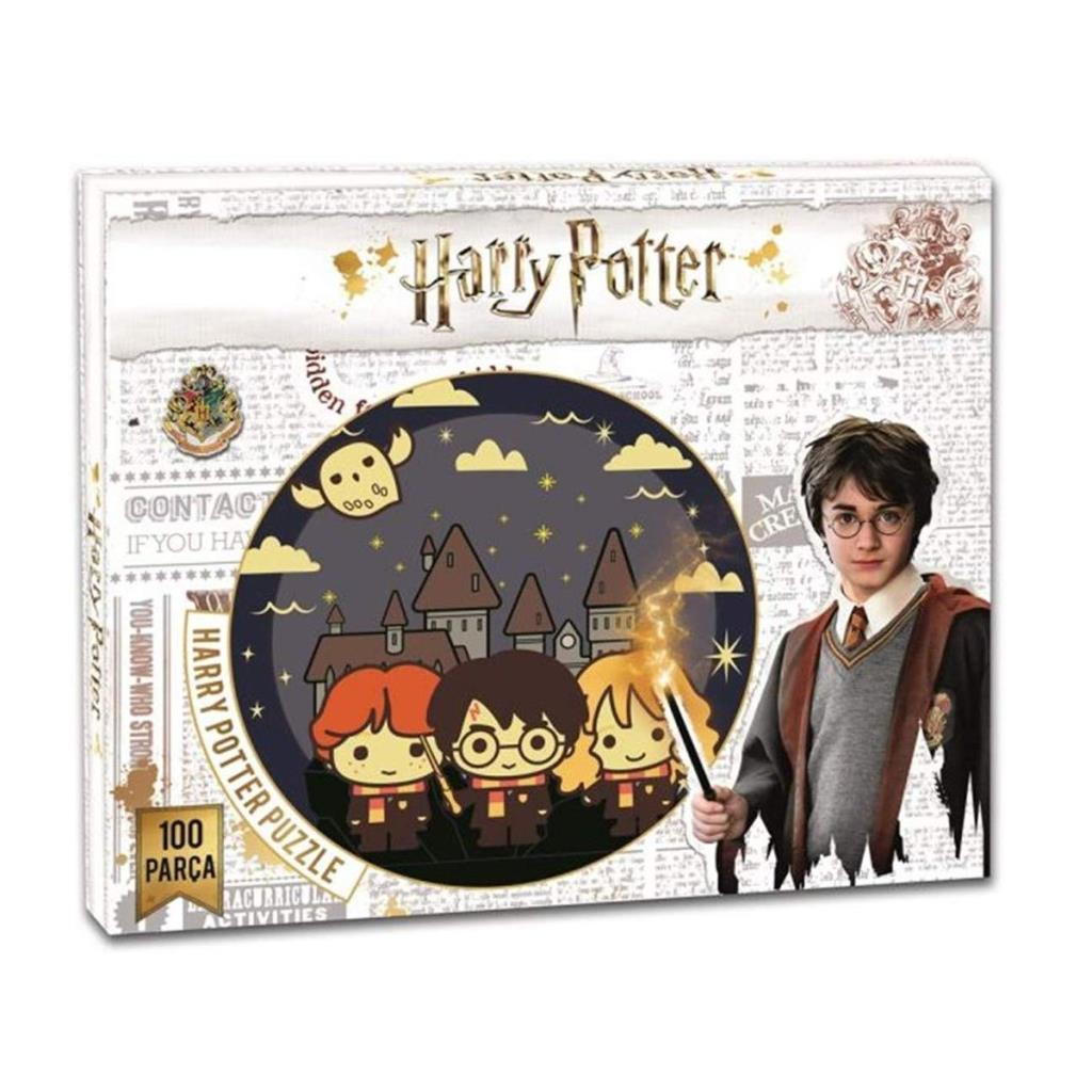 HP7559 Laço Kids Harry Potter 100 Parça Puzzle