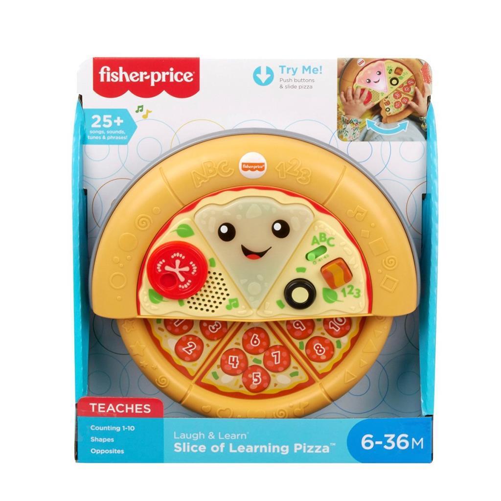 GXR69 Fisher-Price® Eğlen ve Öğren® Eğitici Pizza / Türkçe / 6-36 ay