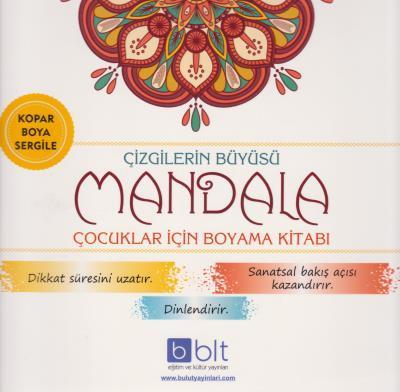 Bulut Mandala çizgilerin Büyüsü Boyama Kitabı Bulut Yayınları