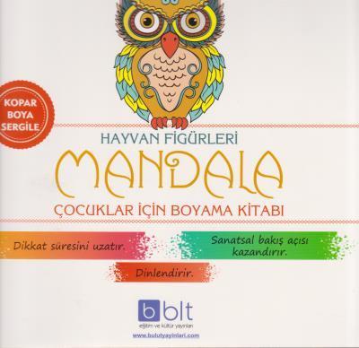Bulut Mandala Hayvan Figurleri Boyama Kitabi Bulut Yayinlari