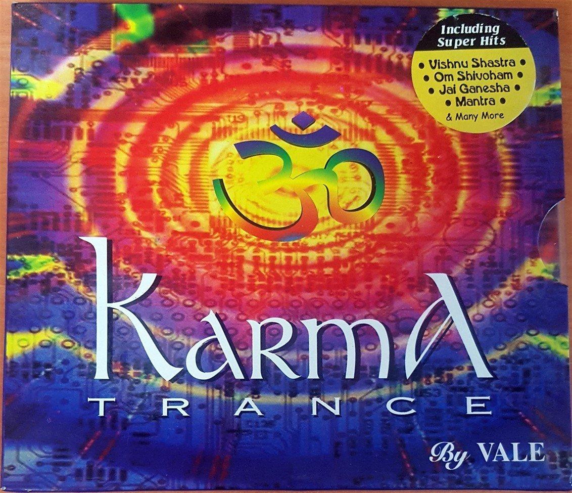 KARMA TRANCE / VISHNU SHASTRA, OM SHIVOHAM, JAI GANESHA, MANTRA (2002) GOA  TRANCE, PSY-TRANCE CD 2 EL