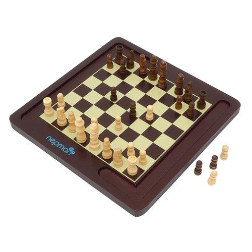 Mini Satranç Dama Akıl Ve Zeka Oyunu