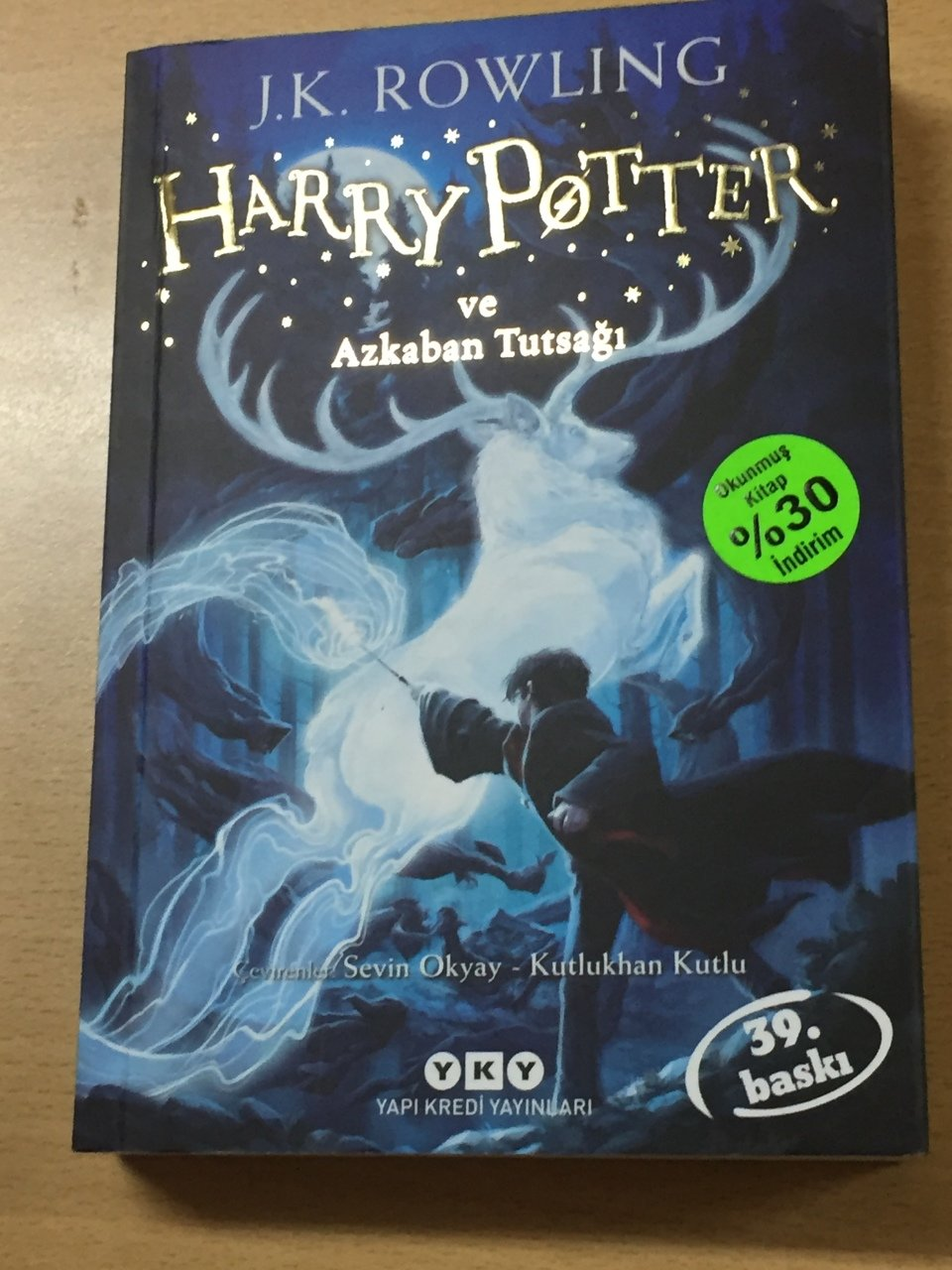 Harry Potter Ve Azkaban Tutsağı 3 Jk Rowling
