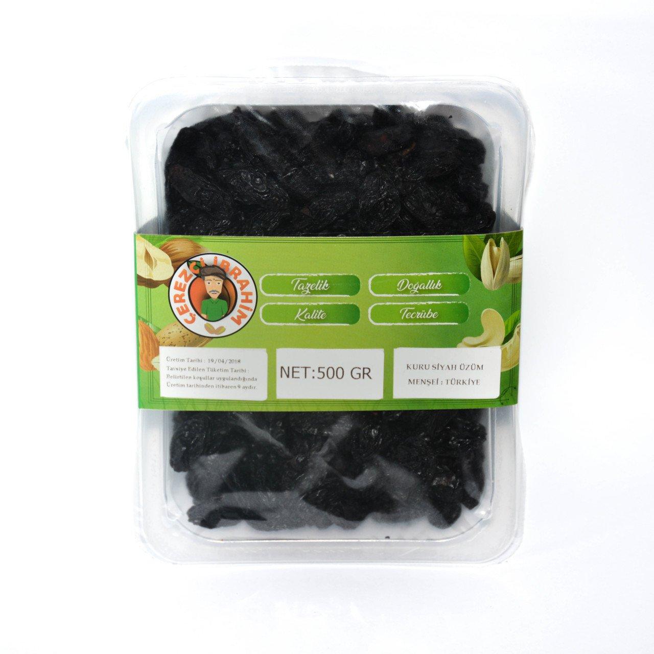 Kuru Siyah Üzüm