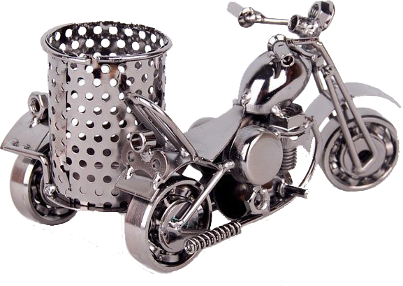 misiny el yapimi metal motosiklet maketi