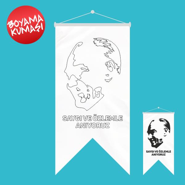 Ataturk Kirlangic Boyama Kumasi 50x70 Cm Olculeri Ve Fiyatlari