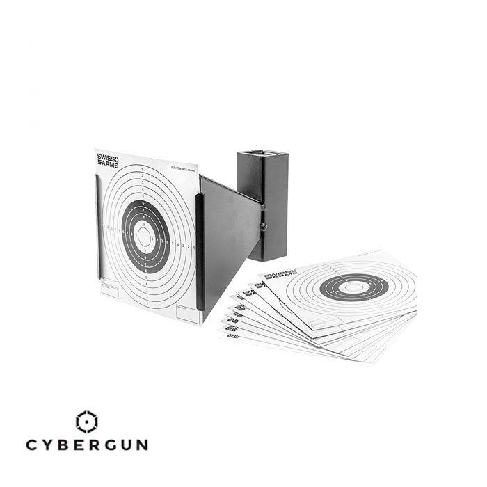 CYBERGUN Swiss Arms Trumplet Metal Hedef