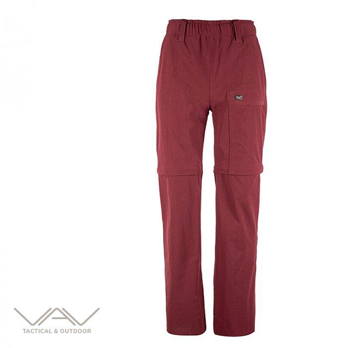 VAV Flextac 11 Outdoor Şortlu Pantolon Bordo XS