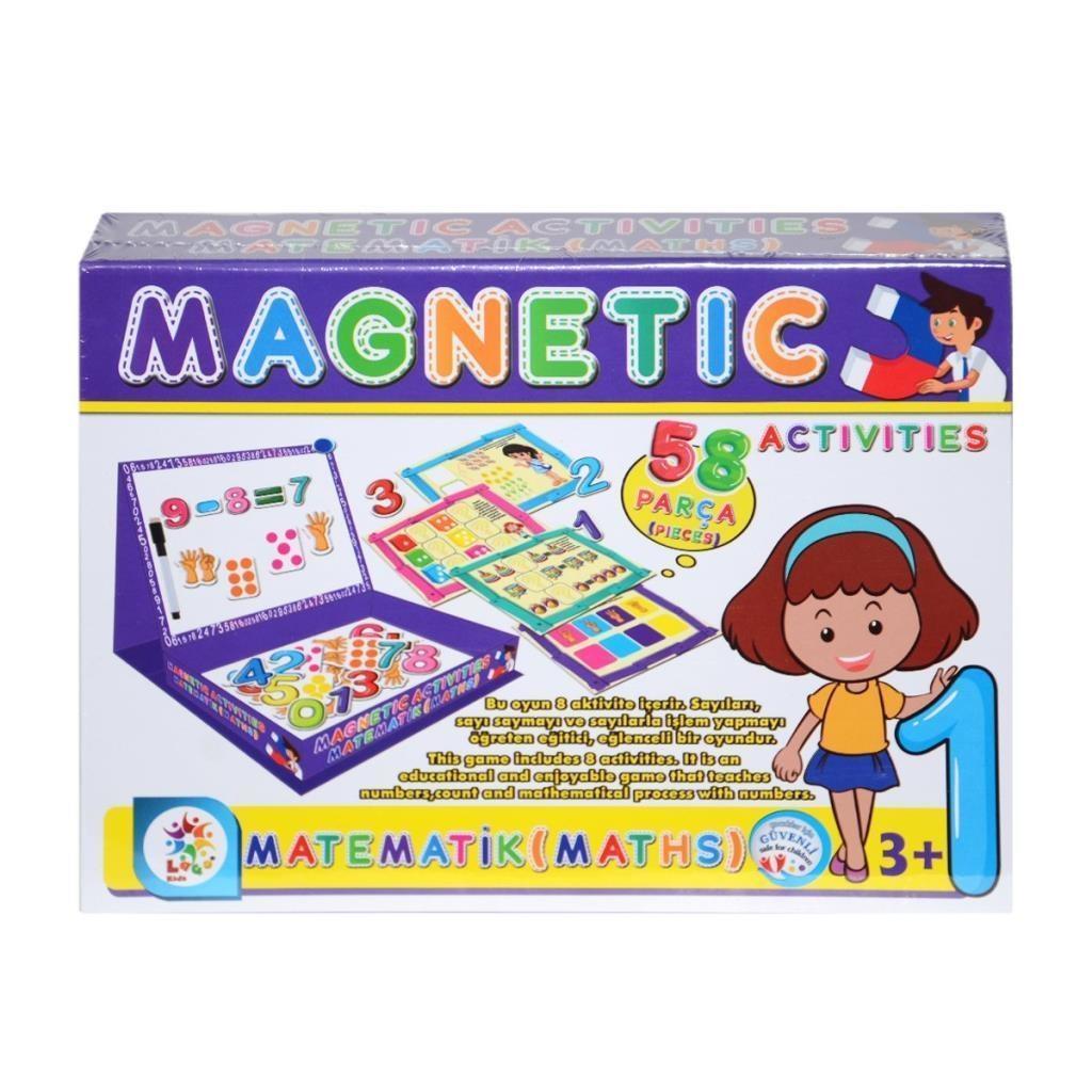 Laco Kids Magnetic Matematik Aktivitesi Maths Activites 58 Parca