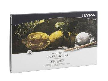 Lyra Rembrandt Aquarell Suluboya Kalemi Metal Kutu 72'li