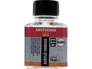 Talens Amsterdam Acrylic Varnish Gloss 114 Parlak Akrilik Boya Verniği 75 ml