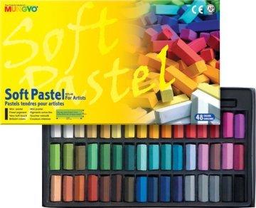 Mungyo Gallery Artists' Soft Pastel 48 Renk Yarım Boy