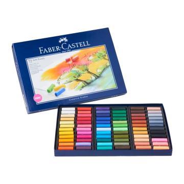 Faber Castell Creative Studio Toz (Soft) Pastel Boya 72 Renk Yarım Boy