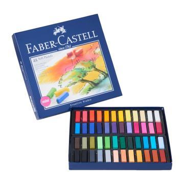 Faber Castell Creative Studio Toz (Soft) Pastel Boya 48 Renk Yarım Boy