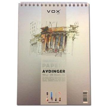 Vox Aydinger Defteri A4 90 gr 30 Sayfa