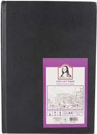 Südor Mona Lisa Sketch Sert Kapak Eskiz Defteri A4 100 gr. 120 yp.