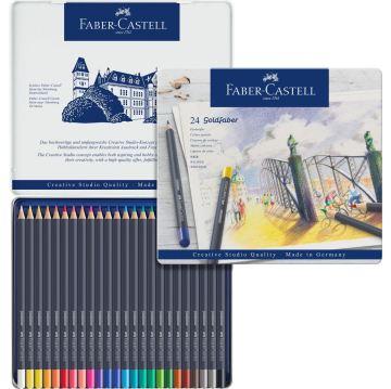 Faber Castell Creative Studio Goldfaber Colored Kuru Boya Kalemi 24 Renk