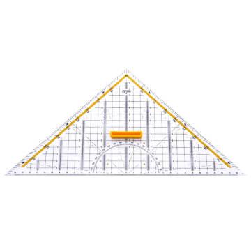 Hatas Geometrik Açılı Gönye 32 cm