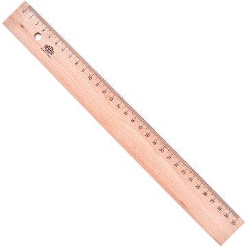 Hatas Tahta Cetvel 50 cm