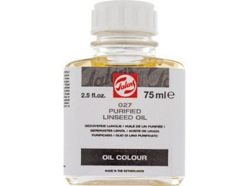 Talens Purified Linseed Oil 027 Saf Keten Tohumu Yağı
