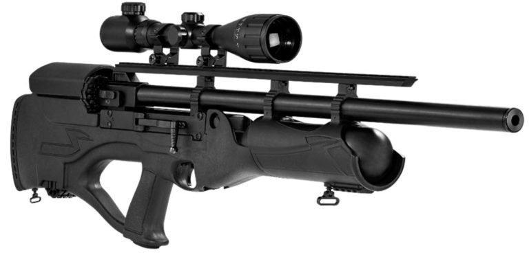 Pnömatik tüfekler ve montajı için görüş