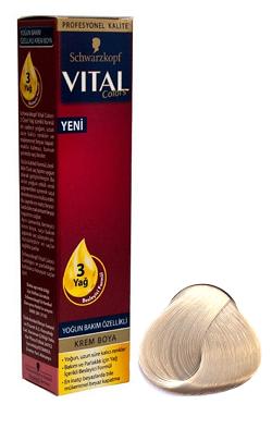 Vital Saç Boyasi 100 Platin Sari