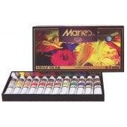Maries Akrilik Boya 12 Renk Set